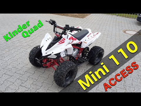 Access Mini 110 / Test Kinderquad / ToxiQtime