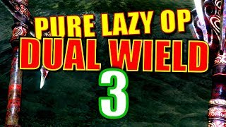 Skyrim Pure Lazy OP Dual Wield Walkthrough #3: 20+ Salmon Roe at the Bridges (Expensive Potions!)