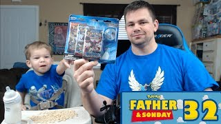 Pokemon Cards - Opening an Articuno Pin Blister with Lukas! | Father & Sonday #32