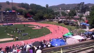 Long Beach Poly 4x100 Boys  4x100 SS CIF Finals 5/19/2012