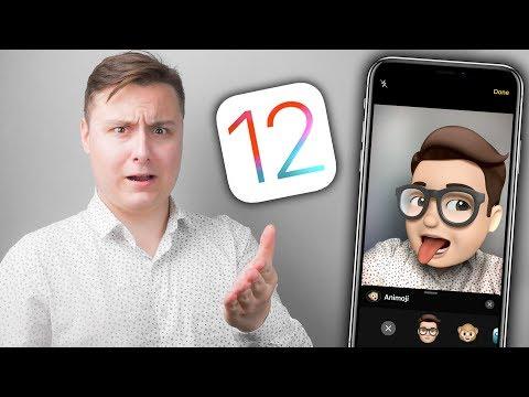 Реакция на iOS 12 – ОНА ПОЛНА ДЕРЬМА! 😡