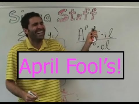 April Fools Prank | Math Teacher + students pull off a prank on half of the returning class that was away on a trip.