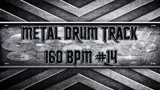 In Your Face Metal Drum Track 160 BPM (HQ,HD)
