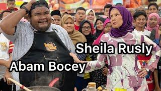 Abam Bocey dan Sheila Rusly Ketuk-Ketuk Ramadan 2019