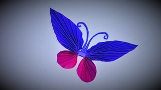 Gambar cover DIY crafts Paper BUTTERFLIES (very EASY)  Room decoration - Christmas Day - Valentine's ideas