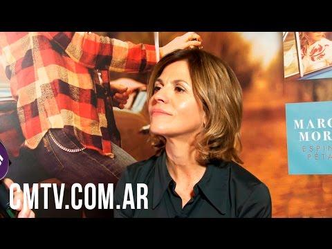 Marcela Morelo video Espinas & Pétalos - Entrevista CM | Agosto 2016