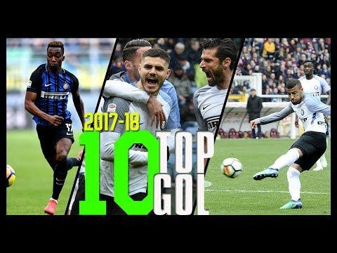 I 10 Gol più belli dell'Inter in Serie A • Stagione 2017/18