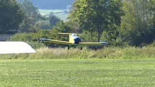 SD-1 Minisport Landung in Beilngries Fly In 2014