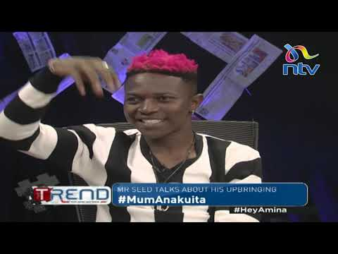 Mr. Seed brings out his wife Nimo for first ever-TV Interview    #theTrend
