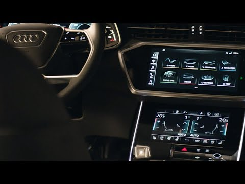 Audi A7 Sportback Interieur: klare Formsprache, innovatives ...