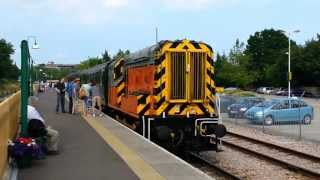 preview picture of video 'Bluebell Railway - 09018 running to East Grinstead - 10th July 2013'