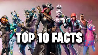 ТОП 10 ФАКТОВ - FORTNITE (Top 10 Facts - Fortnite)