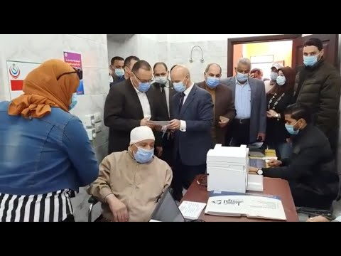بدء فعاليات تطعيم أصحاب الأمراض المزمنة وكبار السن بلقاح كورونا في الشرقية