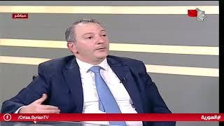 حاكم مصرف سورية المركزي الدكتور حازم قرفول لقناة السورية  20062019