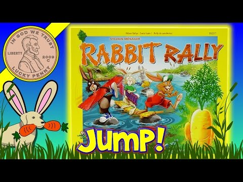 Are You Good At Distance? Play The Rabbit Rally Family Game