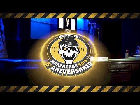5º Aniversario Makineros 90's - 09 de Febrero en Ultraclub Millenium