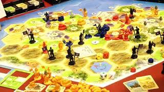 Catan - Städte & Ritter: Die Legenden der Eroberer (Kosmos) / Nürnberger Spielwarenmesse 2019