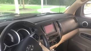 How to install stereo on 2015 Toyota Tacoma