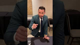 "Josh Altman shares ""Don't be a Chump! Check for a Lump!"" helping us make a difference"