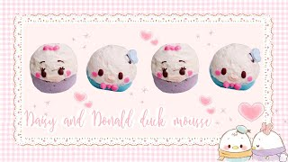 Daisy & Donald Duck Mousse Bombes