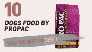 Dogs Food By Propac // Top 10 Most Popular