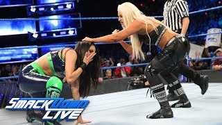 Maryse takes part in her first singles match in over seven years, facing Brie Bella in SmackDown LIVE's main event.  #SDLive  GET YOUR 1st MONTH of WWE NETWORK for FREE: http://wwenetwork.com --------------------------------------------------------------------- Follow WWE on YouTube for more exciting action! --------------------------------------------------------------------- Subscribe to WWE on YouTube: http://bit.ly/1i64OdT Check out WWE.com for news and updates: http://goo.gl/akf0J4 Find the latest Superstar gear at WWEShop: http://shop.wwe.com --------------------------------------------- Check out our other channels! --------------------------------------------- The Bella Twins: https://www.youtube.com/thebellatwins UpUpDownDown: https://www.youtube.com/upupdowndown WWEMusic: https://www.youtube.com/wwemusic Total Divas: https://www.youtube.com/wwetotaldivas ------------------------------------ WWE on Social Media ------------------------------------ Twitter: https://twitter.com/wwe Facebook: https://www.facebook.com/wwe Instagram: https://www.instagram.com/wwe/ Reddit: https://www.reddit.com/user/RealWWE Giphy: https://giphy.com/wwe