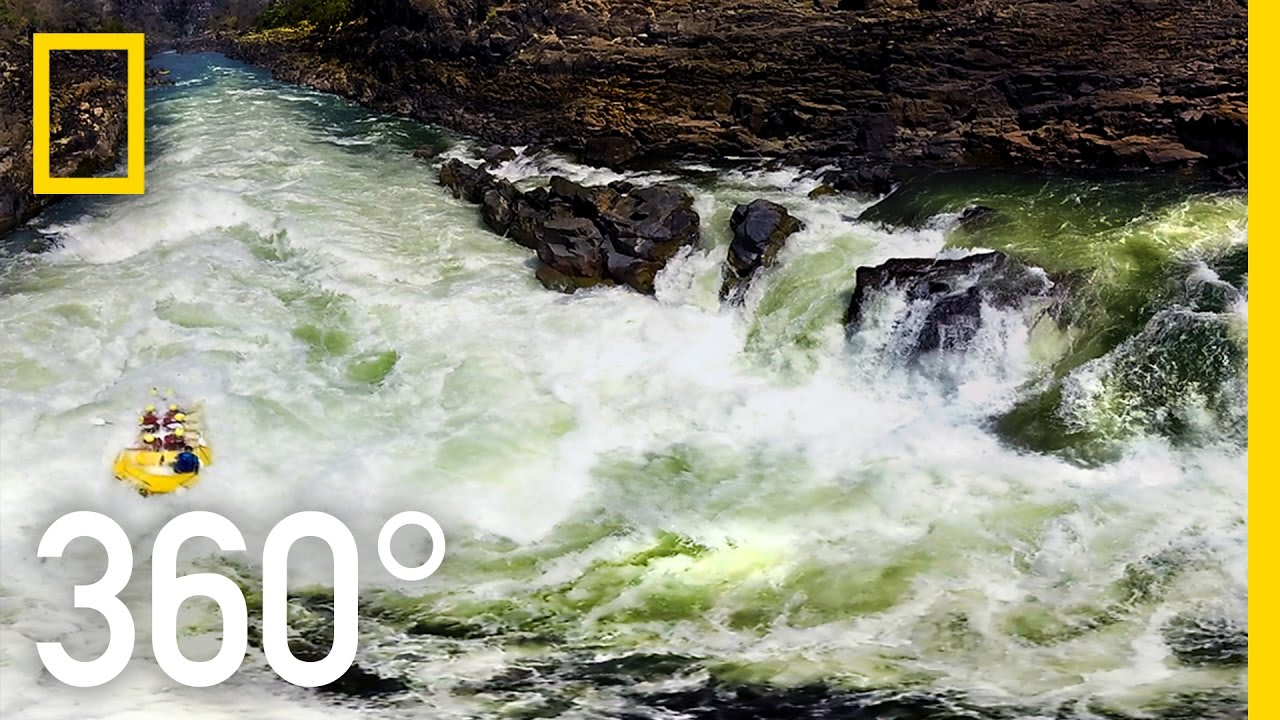 360° Victoria Falls - The Canyons Below   National Geographic thumbnail