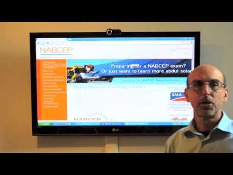 Solar Energy - NABCEP certification - YouTube