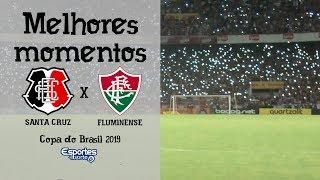 TV Coral - Santa Cruz (2) 2x0 (3) Fluminense - Copa Do Brasil 2019