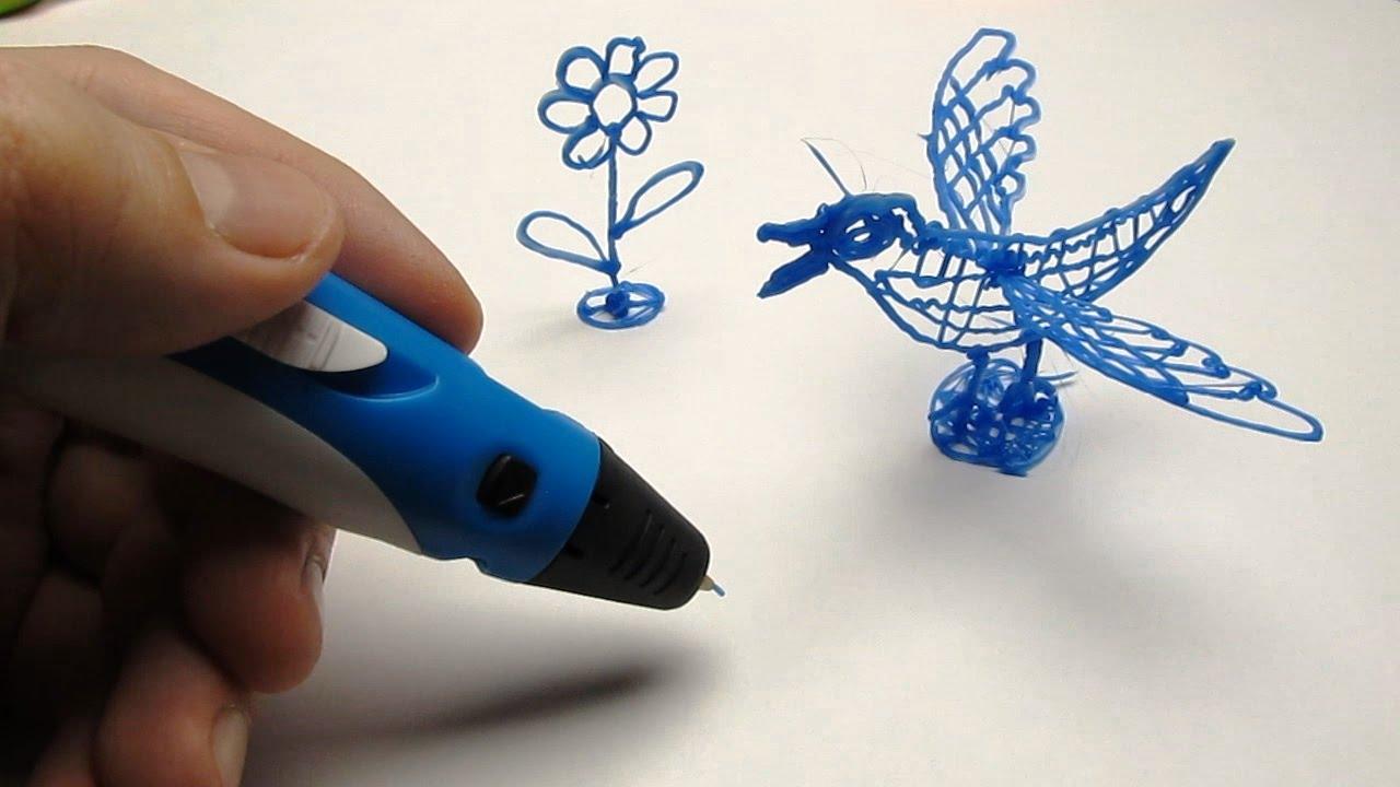 Видео 3D ручка
