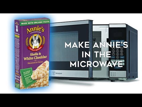 How to Cook Annie's Shells & White Cheddar Mac & Cheese in the MICROWAVE