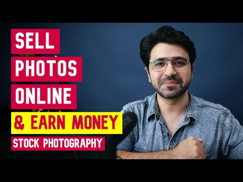 SELL YOUR PHOTOS ONLINE & EARN MONEY (for Mobile & DSLR camera users)