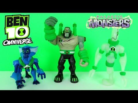 Ben 10 Galactic Monsters Frankenstrike, Ghostfreak ...