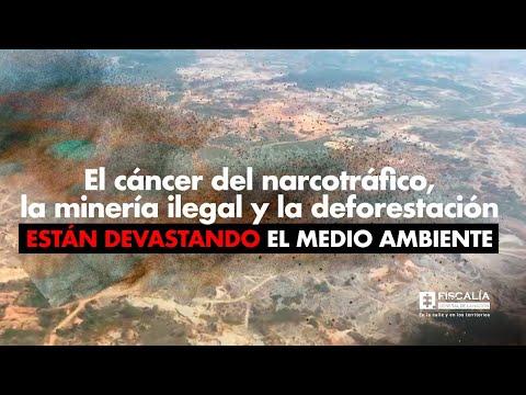 Fiscal Francisco Barbosa: Narcotráfico y minería ilegal están devastando el medio ambiente