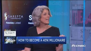 So you want to be a 401(k) millionaire? Here's how to do it, according to Fidelity