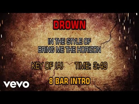 Bring Me The Horizon - Drown (Karaoke)