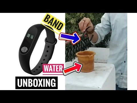 Unboxing & Water 💦 Test of Bingo M2 fitness Band ~Tech Addicted