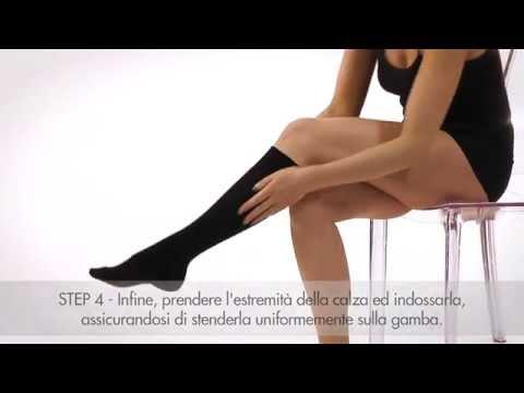 Selezione di calze di varicosity