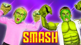 Kade and Kalia Smash! Superhero Showdown on Kids Fun TV!