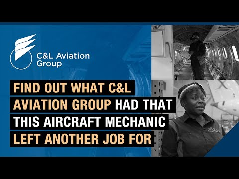 Find out what C&L Aviation Group had that this aircraft mechanic left another job for.