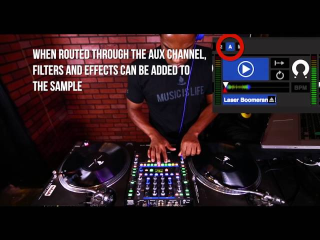 Serato Scratch Sample Player   DJ Choc   Scratch DJ Academy