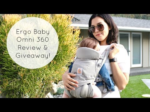 The BEST Baby Carrier: Ergobaby Omni 360 Review & Giveaway!