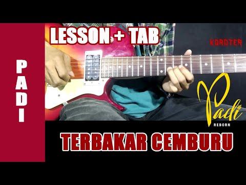 Belajar Gitar Padi - Terbakar Cemburu (Intro + TAB)