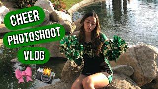 Cheer PhotoShoot Vlog