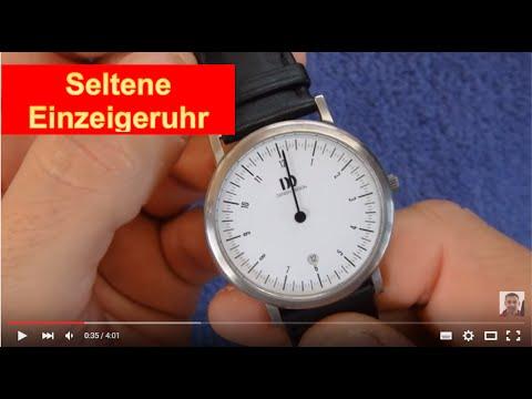 Einzeigeruhr DareDevil Die schönste Uhr der Welt