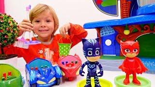Герои в масках - Делаем уборку! Мультики для малышей