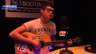 Jordan Allen performs 'space' live in the studio