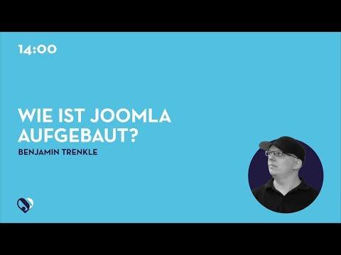JD19DE - Wie ist Joomla aufgebaut? Welche Dateien finde ich wo?