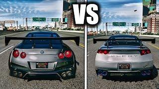 GTA V Cars VS REAL Cars | ULTRA Realistic GRAPHICS MOD GAMEPLAY