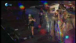 Miley Cyrus: These four walls - Rock in Rio Madrid 2010: 6 de Junio